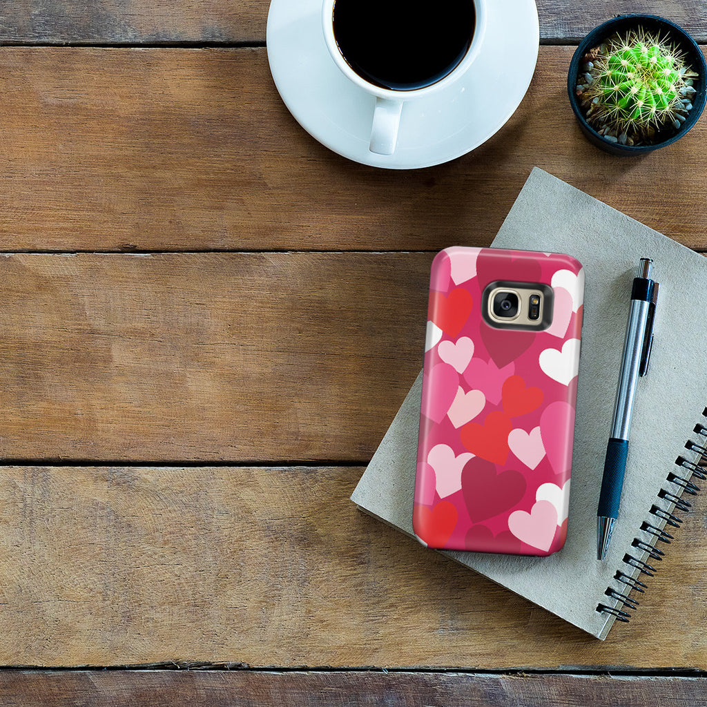 Galaxy S7 Edge Adventure Case - I Heart You