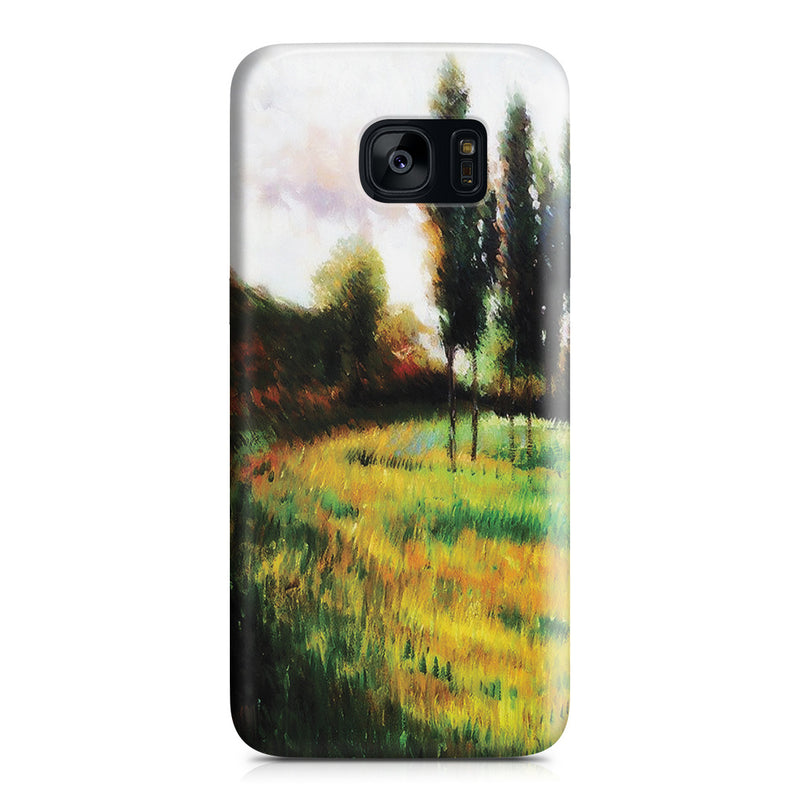 Galaxy S7 Edge Case - Dogs Running In a Meadow, 1888 by Paul Gauguin