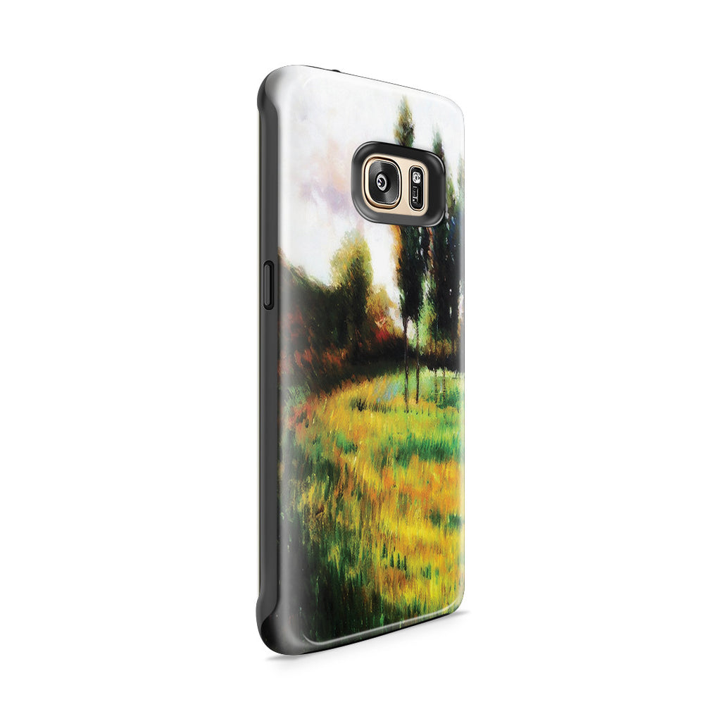 Galaxy S7 Edge Adventure Case - Dogs Running In a Meadow, 1888 by Paul Gauguin