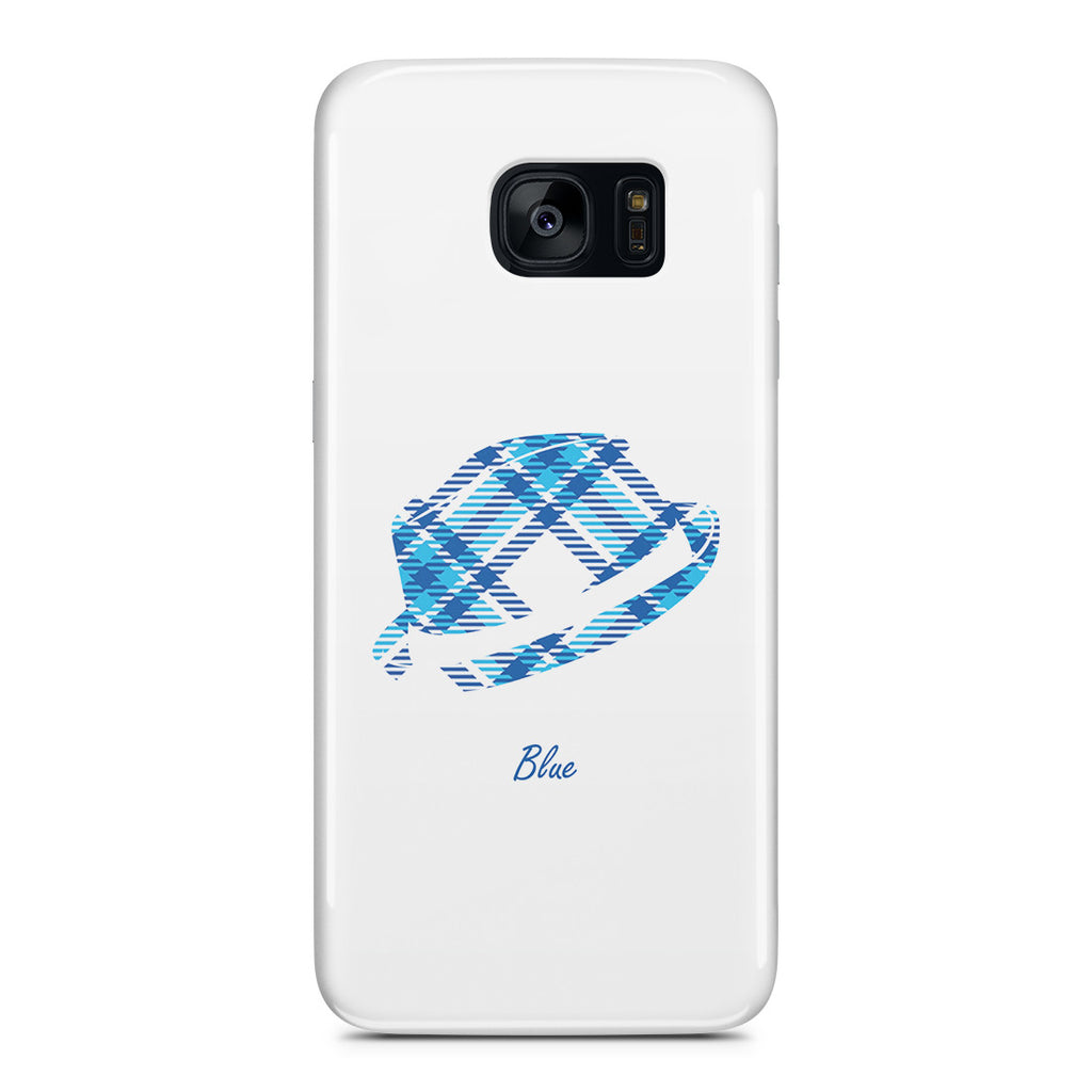 Galaxy S7 Edge Case - Blue Bro's Fedora
