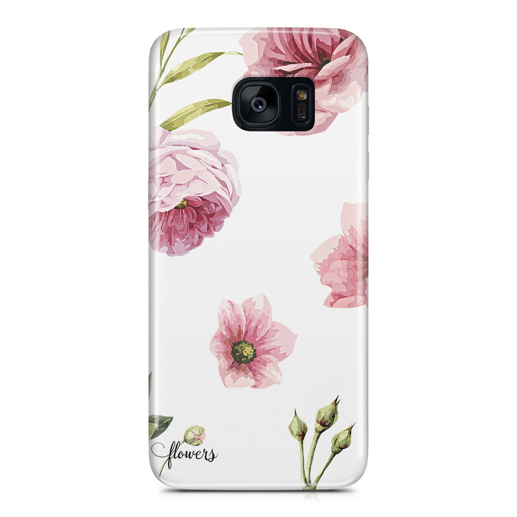 Galaxy S7 Edge Case - Full Blossom