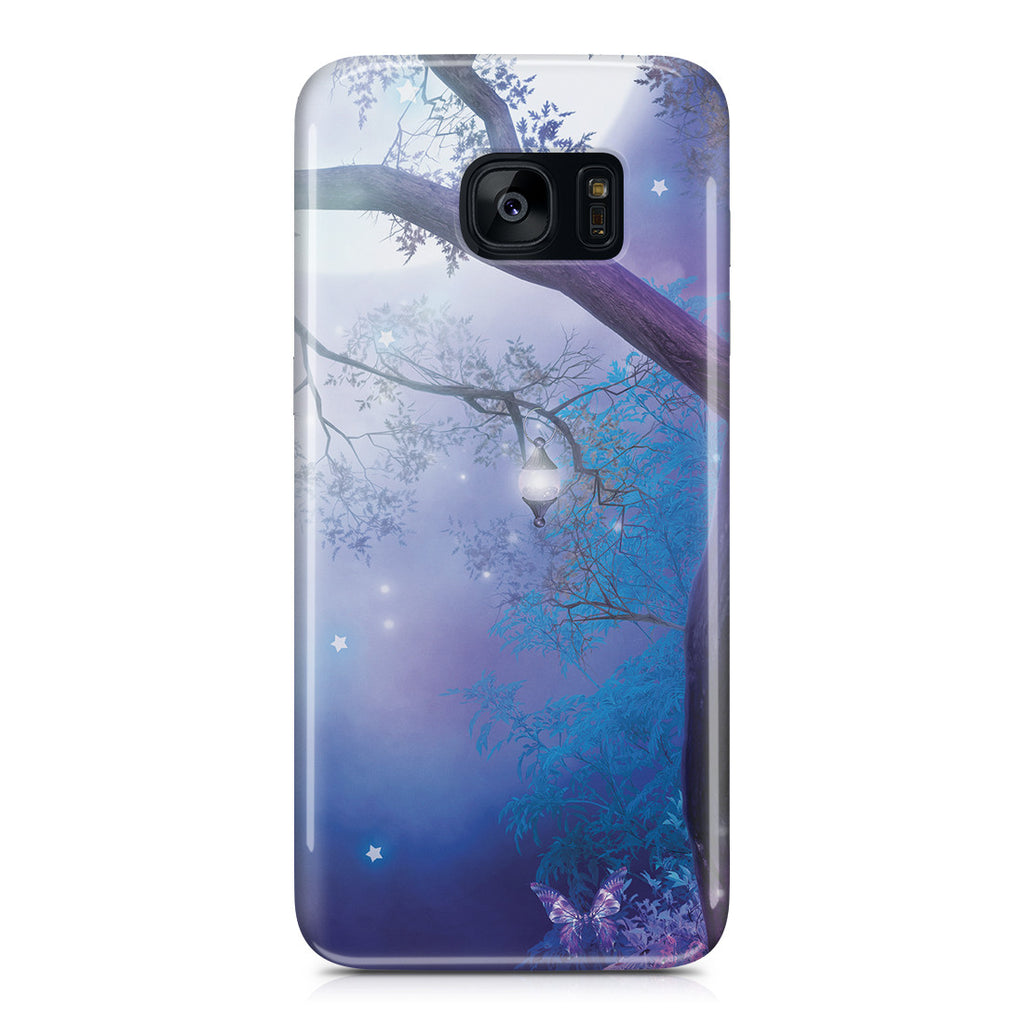 Replacement-Galaxy S7 Edge Case - Moonlight Garden