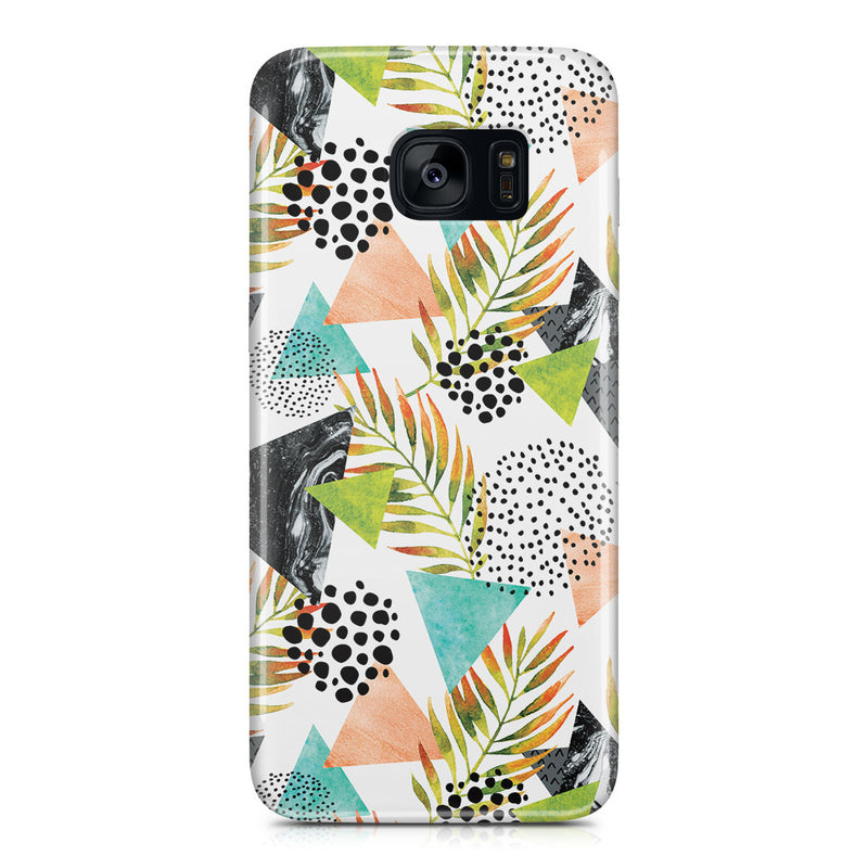 Galaxy S7 Edge Case - Summer Leaf