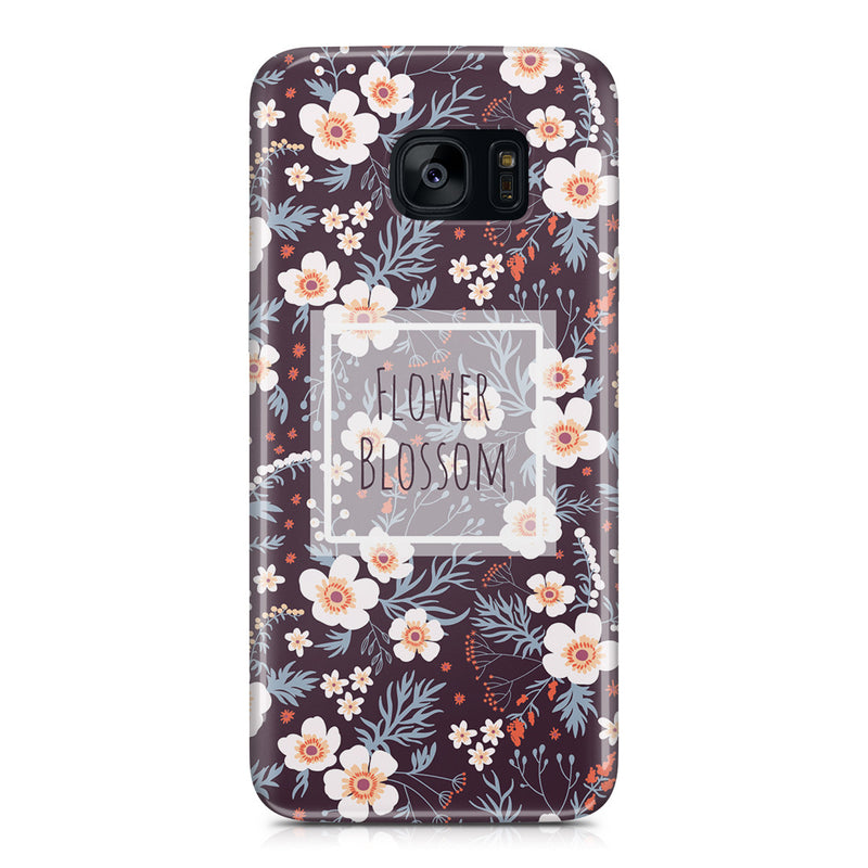 Galaxy S7 Edge Case - Flower Blossom