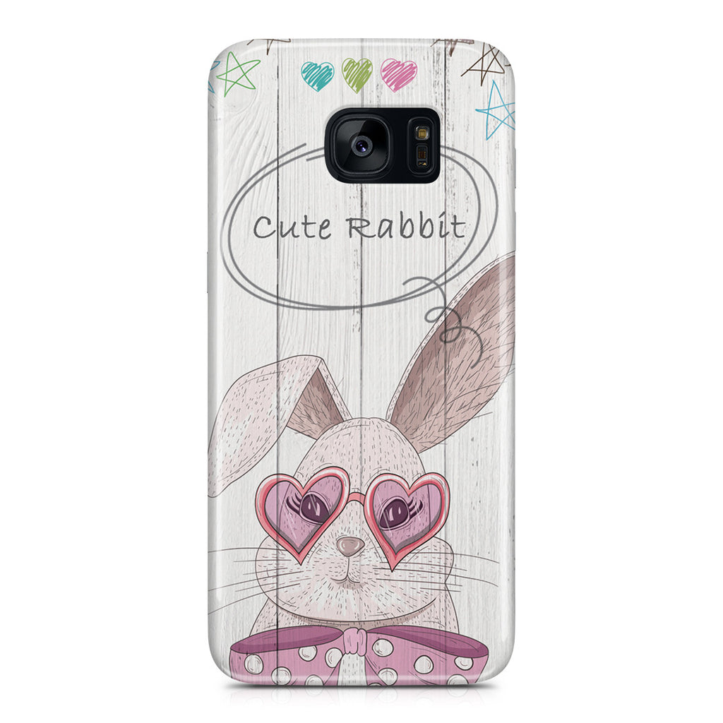 Galaxy S7 Edge Case - Cute Rabbit