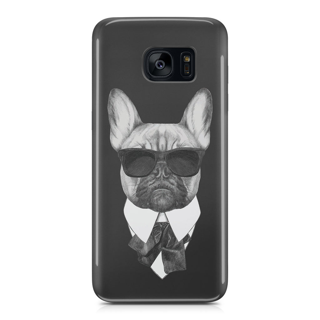 Galaxy S7 Edge Case - Brother Pug