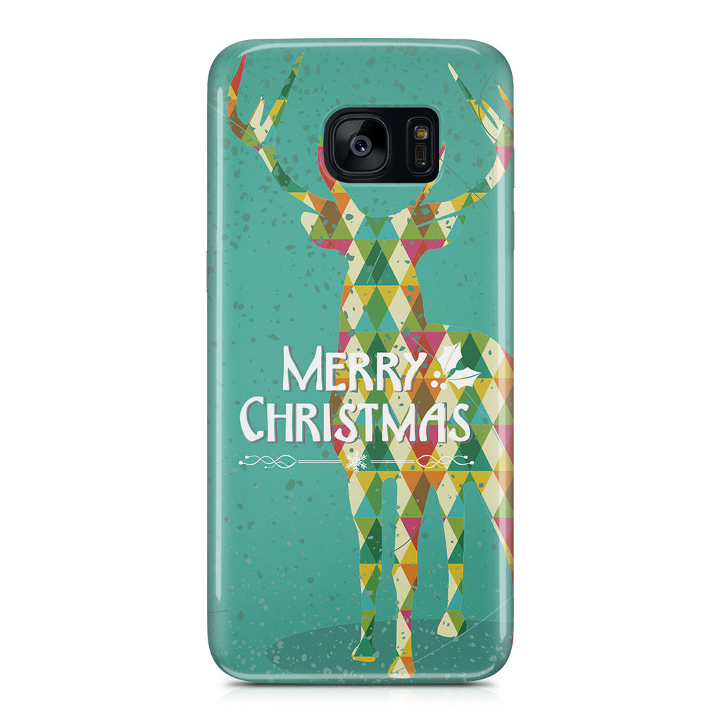 Galaxy S7 Edge Case - Merry Christmas