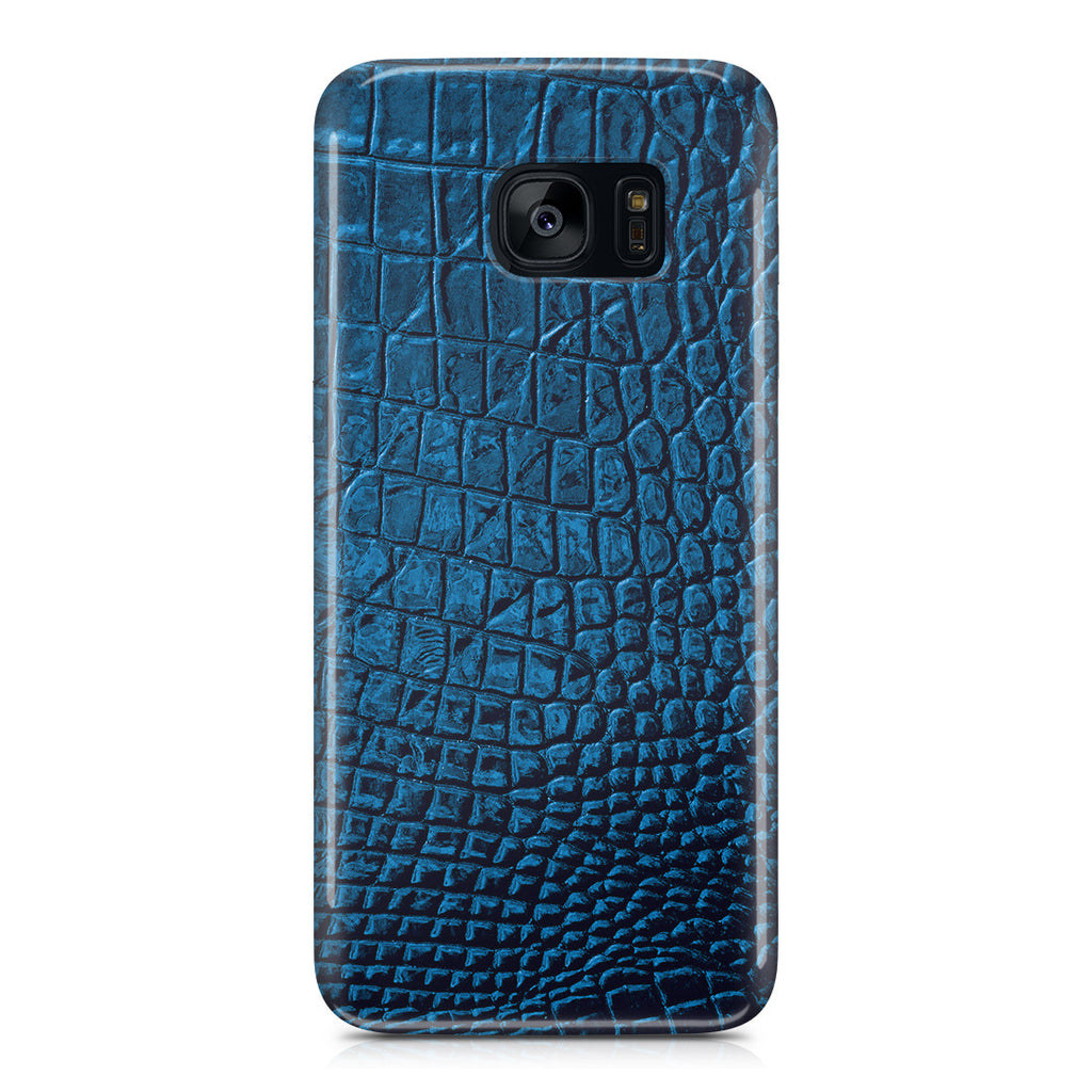 Galaxy S7 Edge Case - Croco Leather