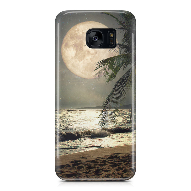 Galaxy S7 Edge Case - Super Moon