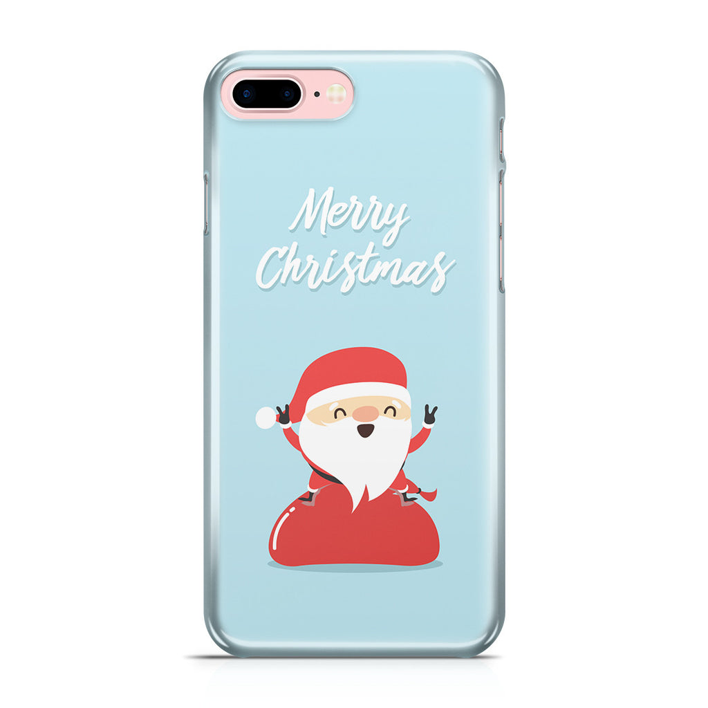 iPhone 7 Plus Case - Happy Santa