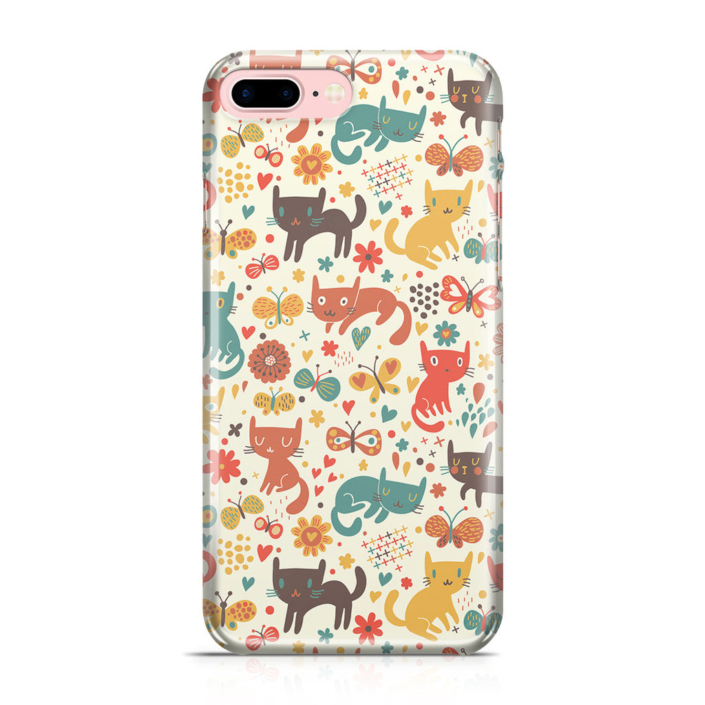 iPhone 7 Plus Case - Crayon Cat