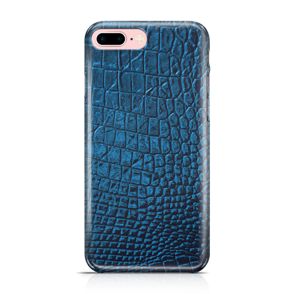 iPhone 7 Plus Case - Croco Leather