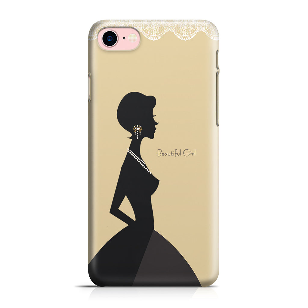 iPhone 7 Case - Gold Silhouette