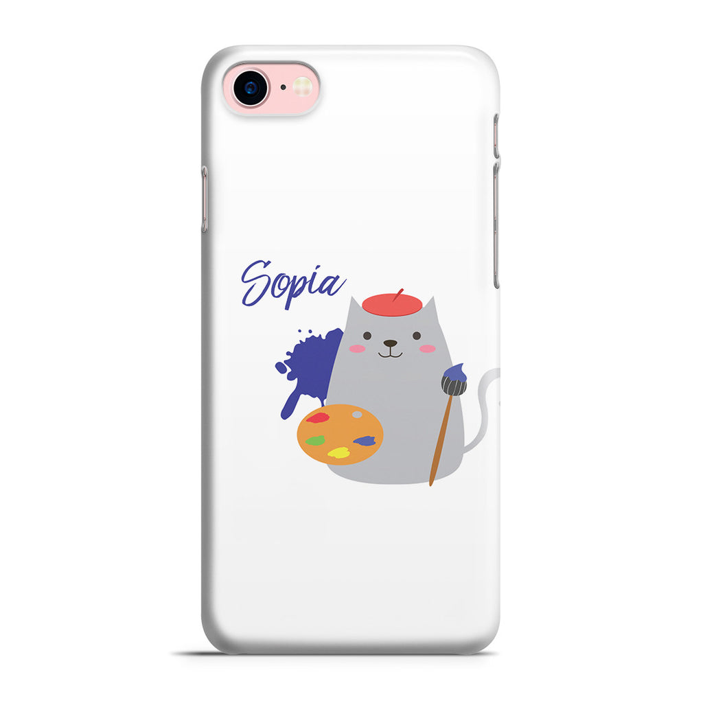 iPhone 7 Case - Cat Artist