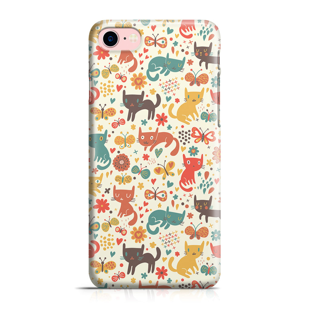 iPhone 7 Case - Crayon Cat