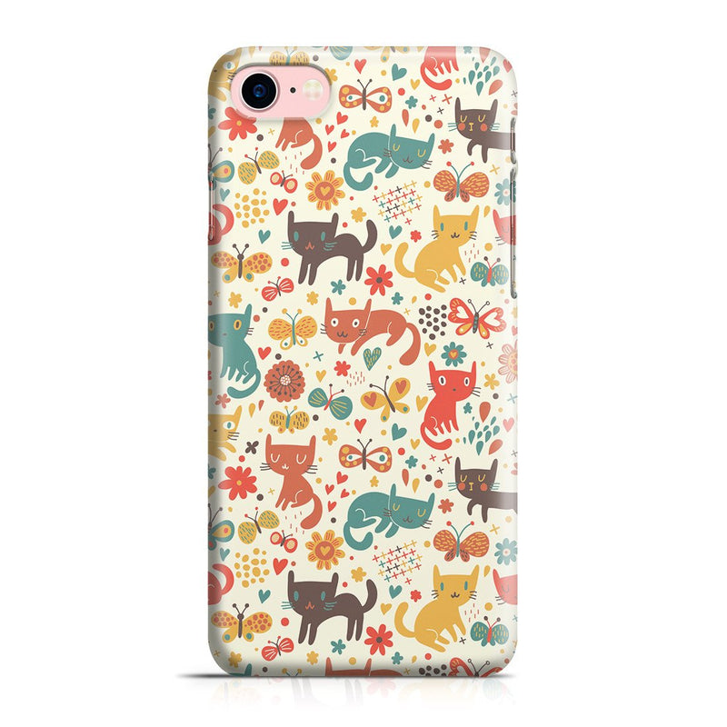iPhone 8 Case - Crayon Cat