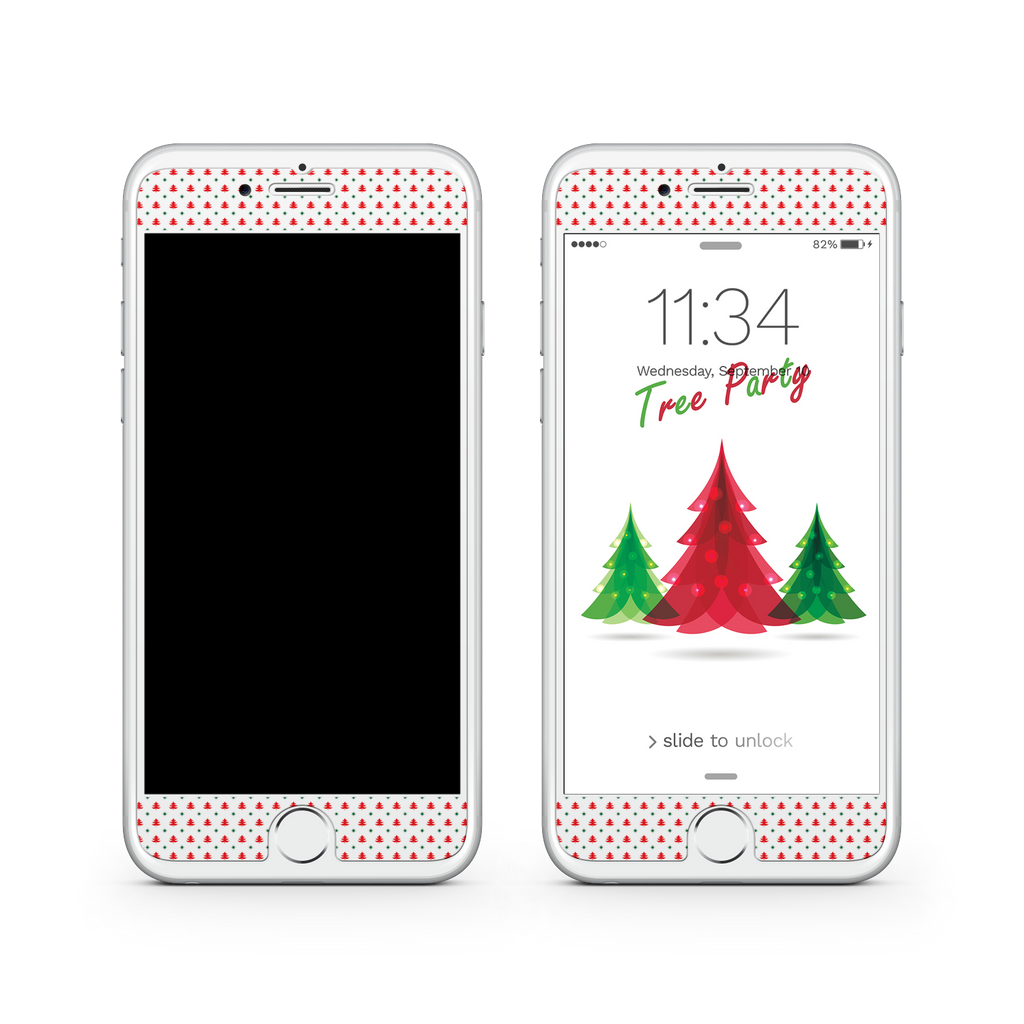 iPhone 7 Plus Vivid Glass Screen Protector - Tree Festival