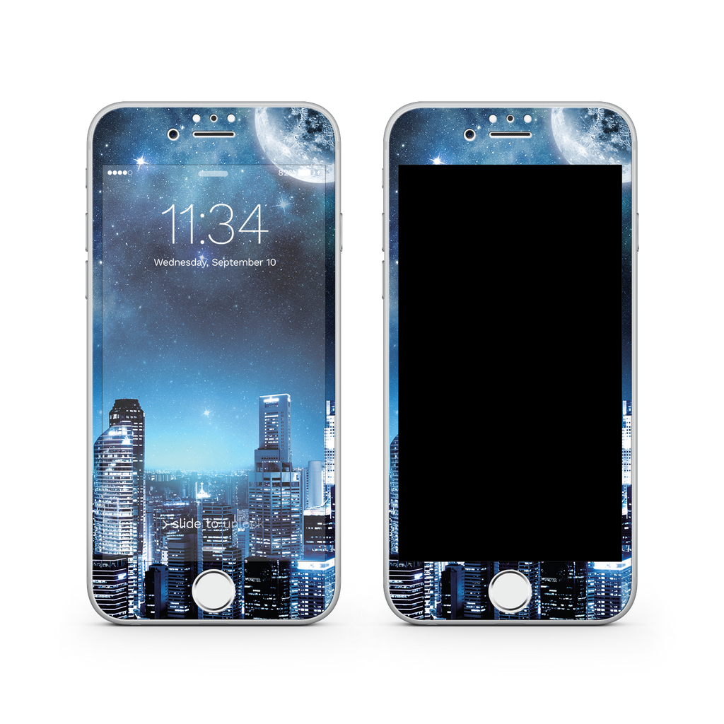 iPhone 7  Vivid Glass Screen Protector - Night Sky