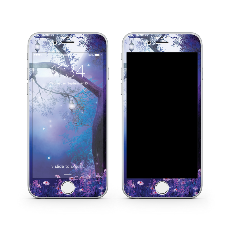 iPhone 8  Vivid Glass Screen Protector - Moonlight Garden