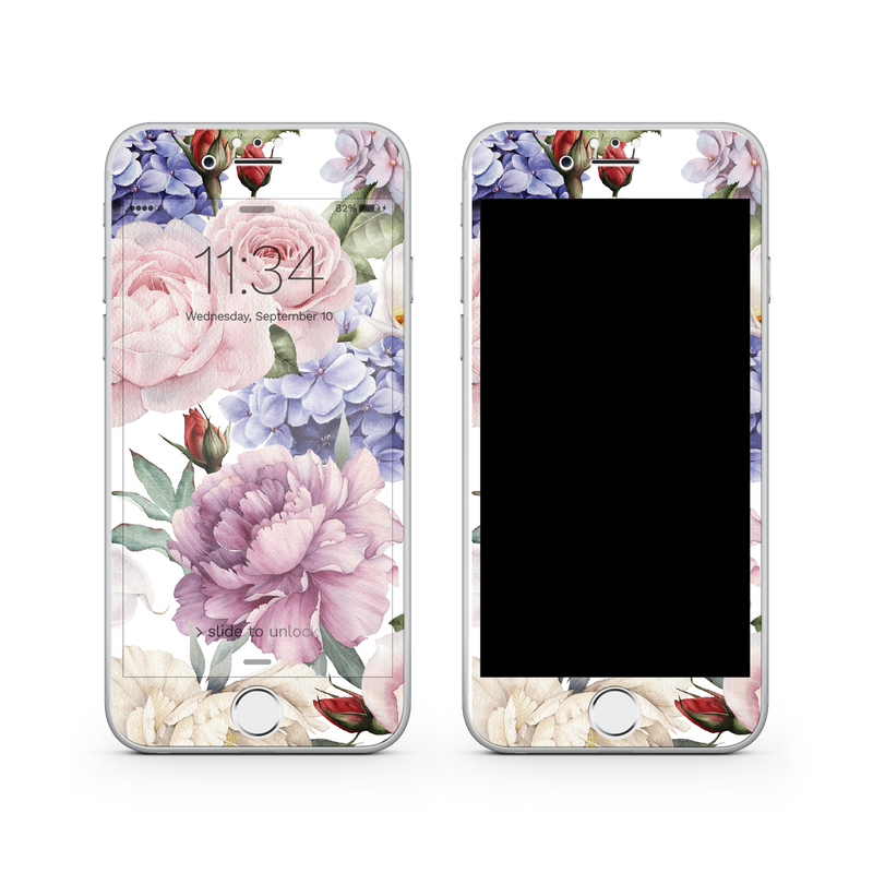 iPhone 7 Plus Vivid Glass Screen Protector - Bouquet