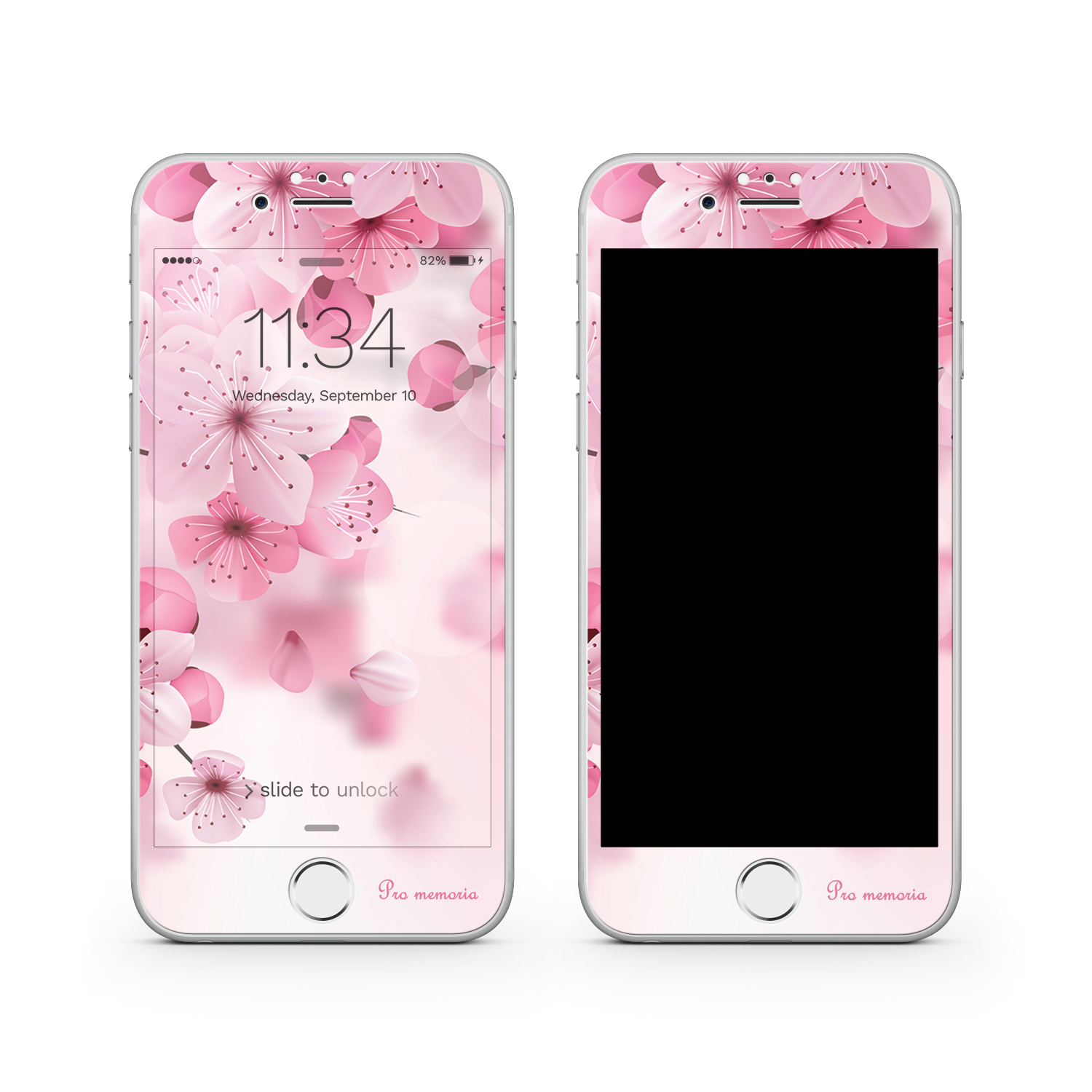 iphone 8 plus phone case with screen prote