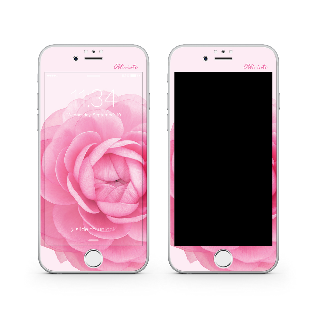 iPhone 7  Vivid Glass Screen Protector - Don't Forget Me