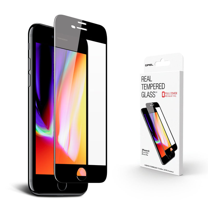 iPhone 8 Edge to Edge Screen Protector - Real Tempered Glass