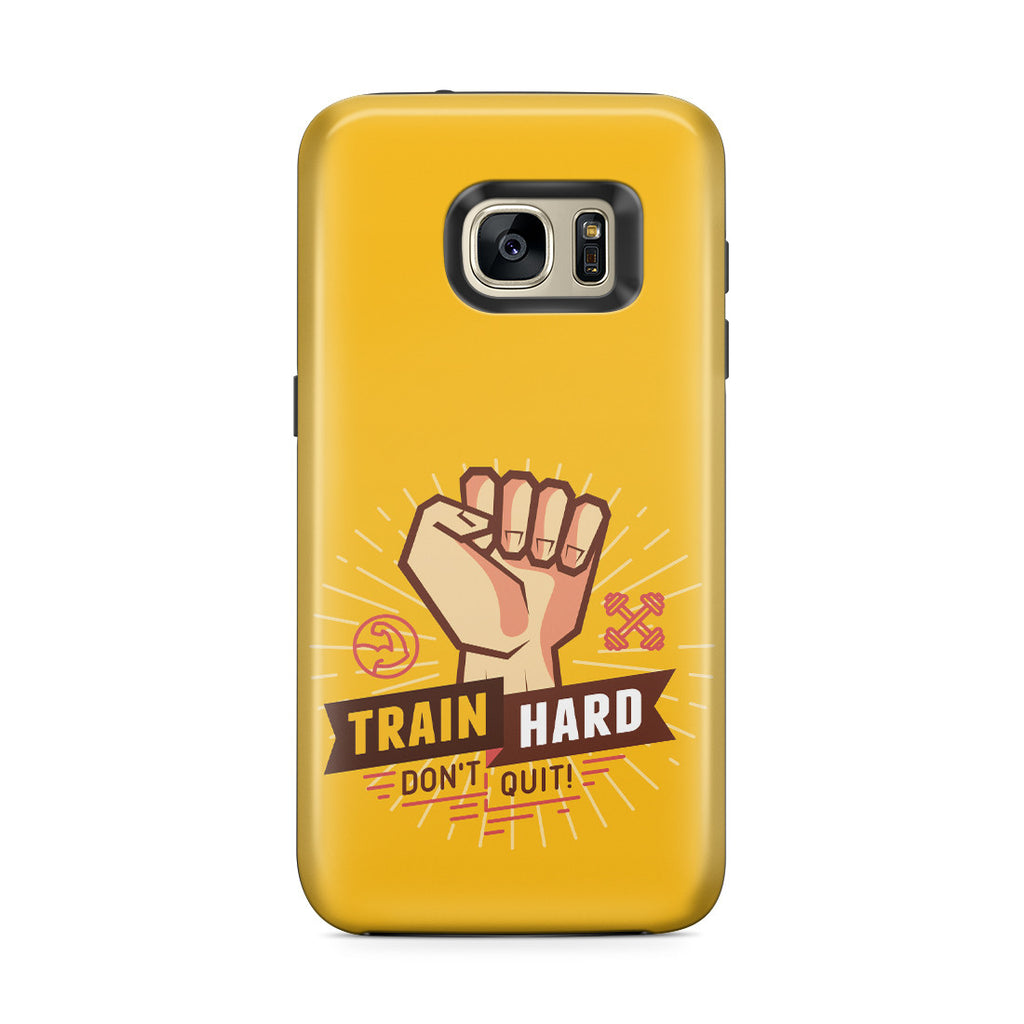 Galaxy S7 Edge Adventure Case - Train Hard