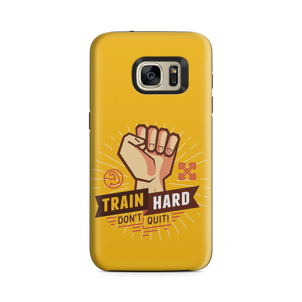 Galaxy S7 Adventure Case - Train Hard