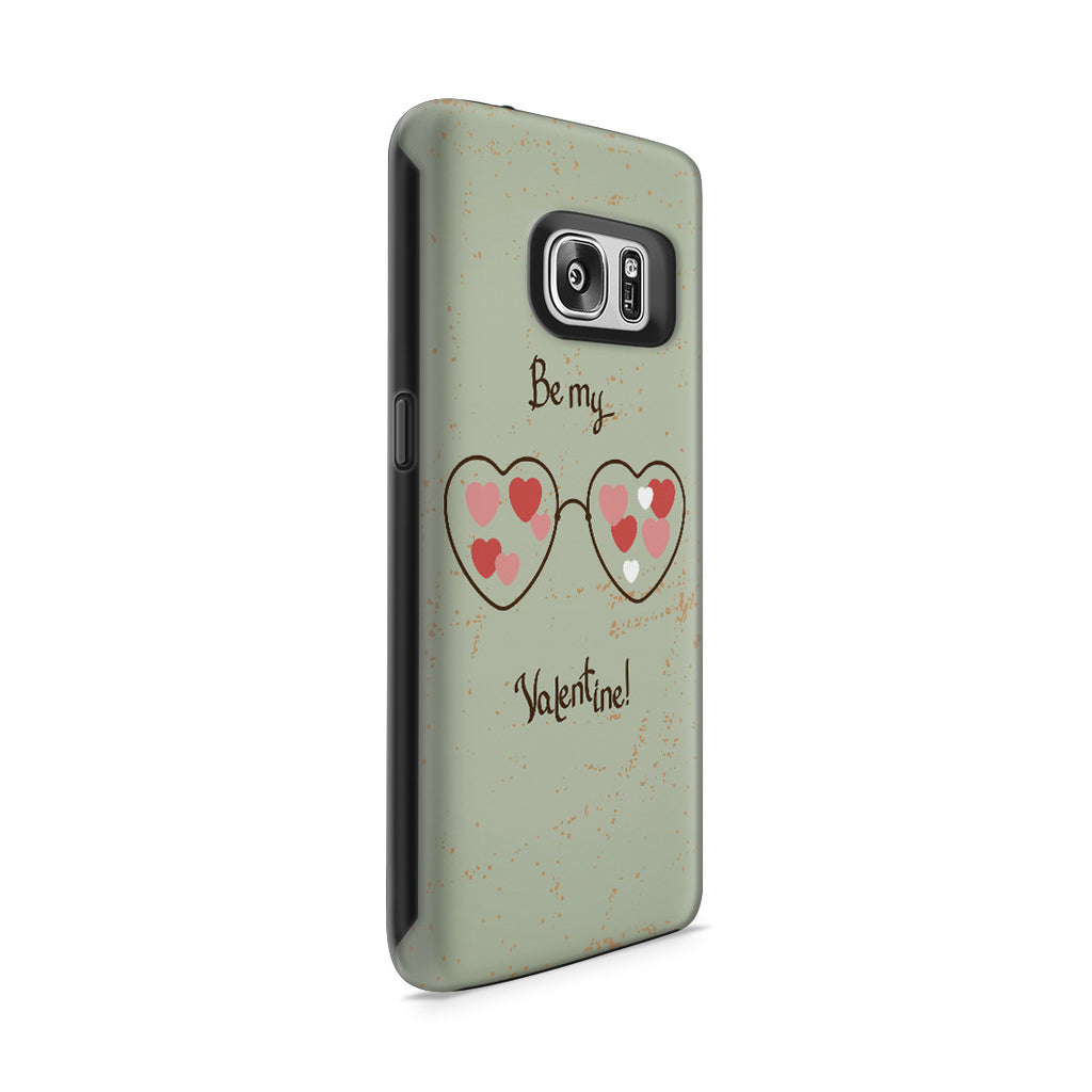 Galaxy S7 Adventure Case - Be My Valentine