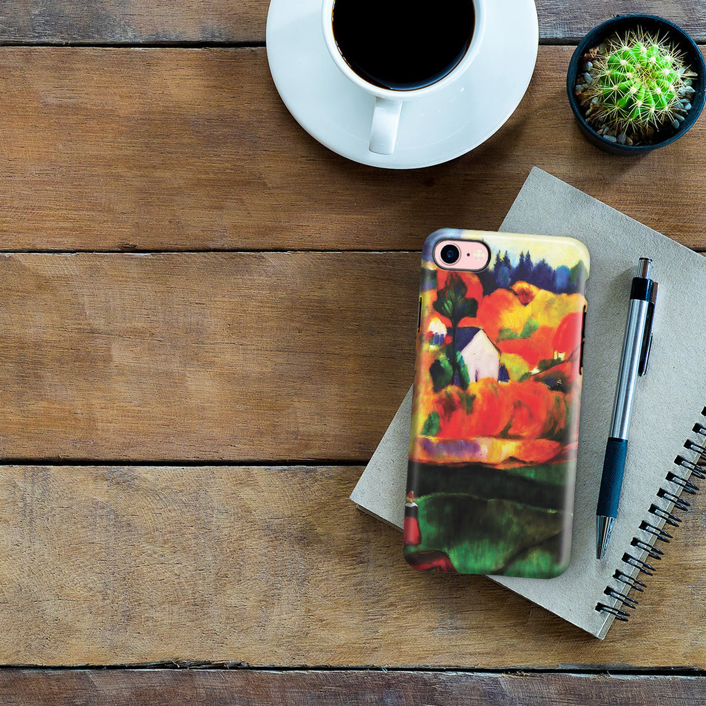 iPhone 6 | 6s Adventure Case - A Breton Landscape. David's Mill., 1894 by Paul Gauguin