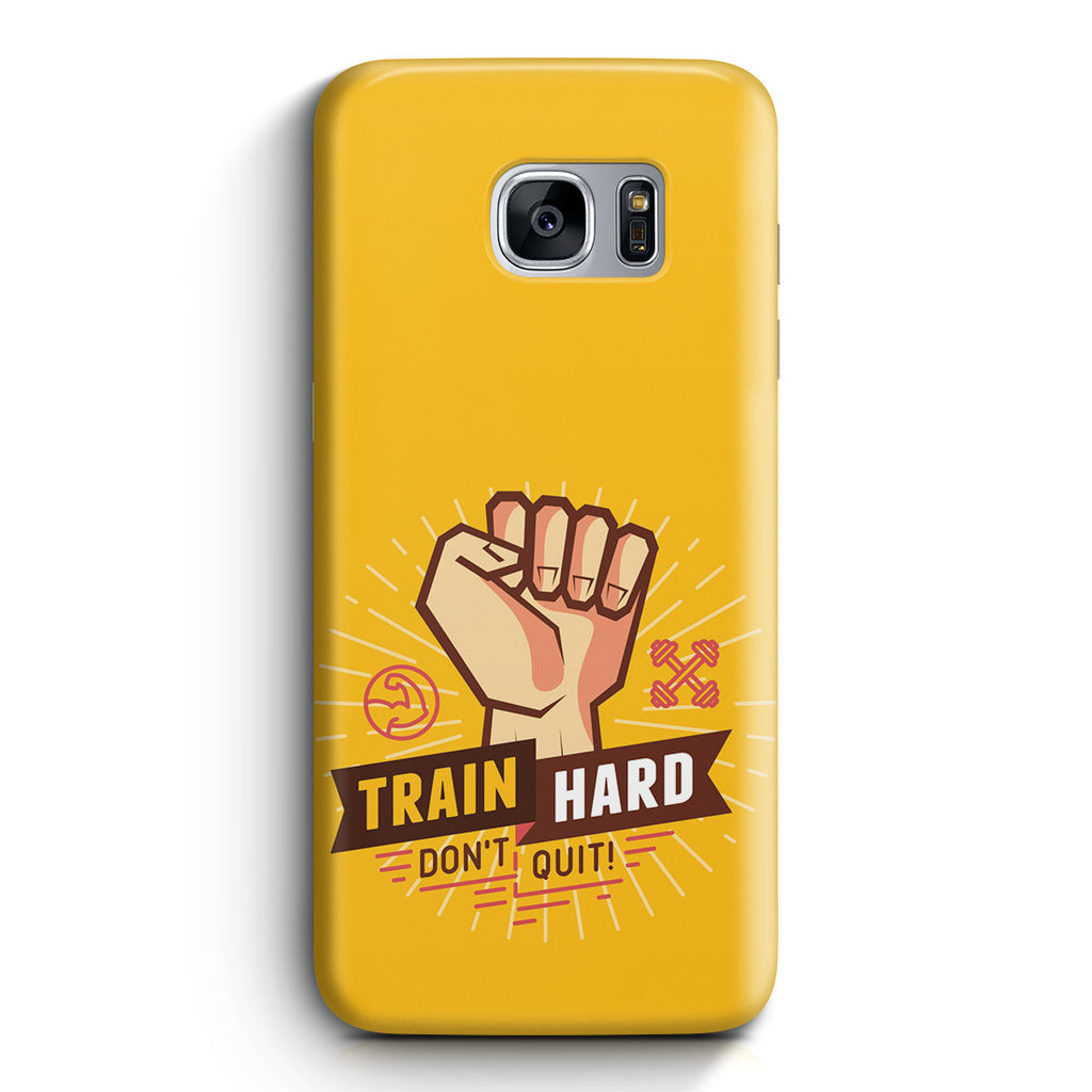 Galaxy S7 Edge Case - Train Hard
