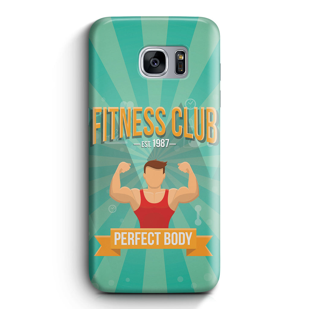 Galaxy S7 Edge Case - Fitness Club