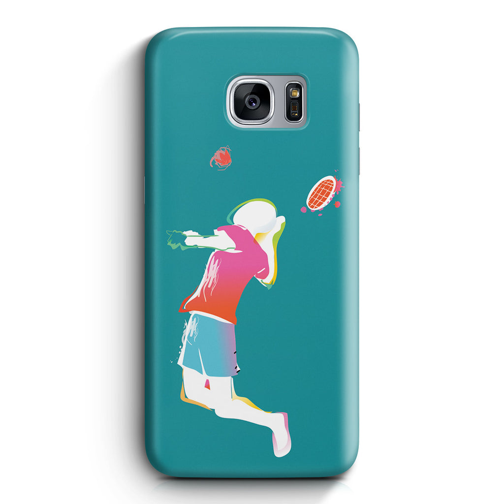 Galaxy S7 Edge Case - Fire Tennis