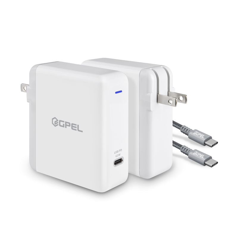 61W USB C Charger PD(Power Delivery) 3.0/ QC 3.0 Fast Charger (Support Super Fast Charging 2.0 for Galaxy Note10 / 10 Plus/ 5G)