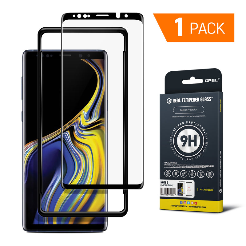 Galaxy Note 9 - Full Coverage Tempered Glass Screen Protector