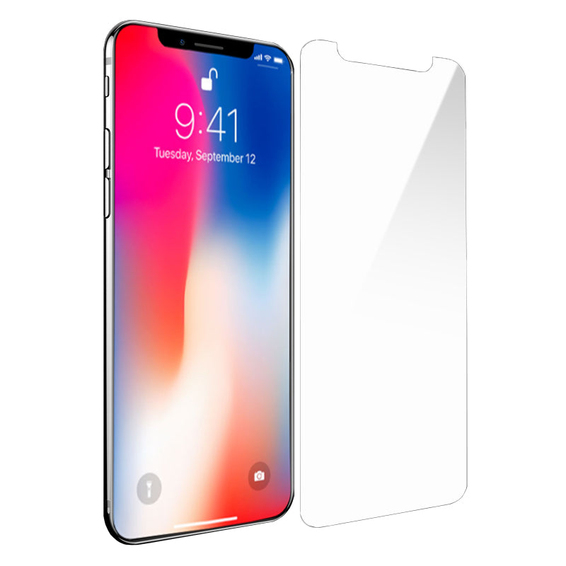 on sale d765b 15b50 iPhone X Screen Protector - Real Tempered Glass (Clear)