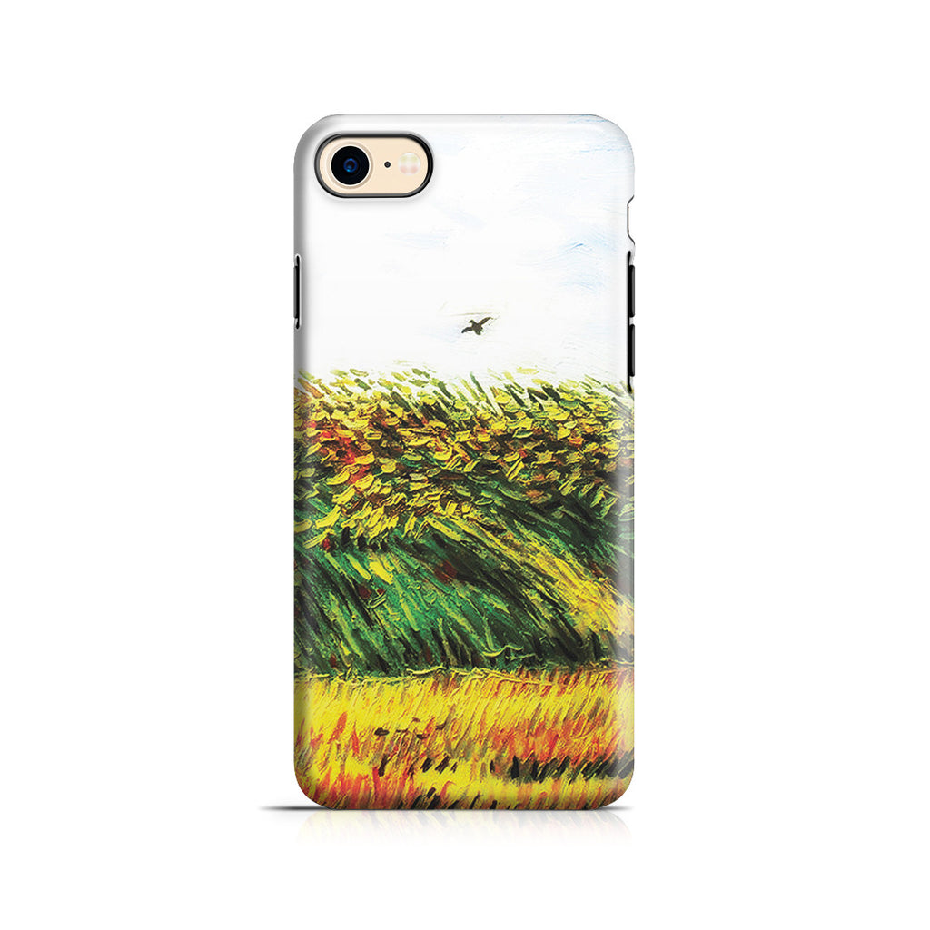 iPhone 7 Adventure Case - Edge of a Wheat Field with Poppies and a Lark by Vincent Van Gogh