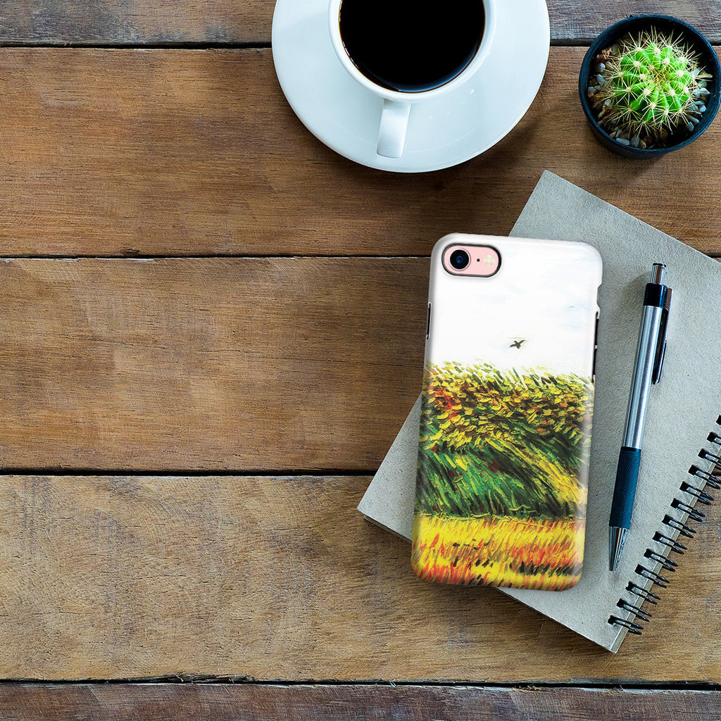 iPhone 6 | 6s Plus Adventure Case - Edge of a Wheat Field with Poppies and a Lark by Vincent Van Gogh