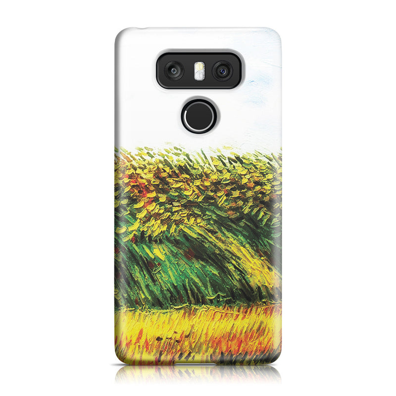 LG G6 Case - Edge of a Wheat Field with Poppies and a Lark by Vincent Van Gogh