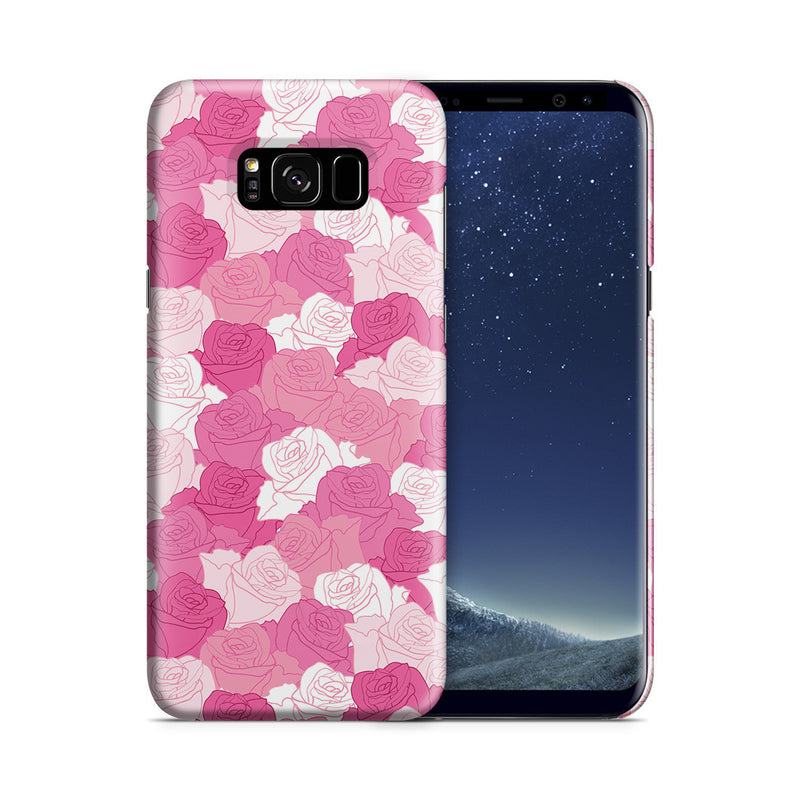 Galaxy S8 Case - A Life without Love Will Have No Roses