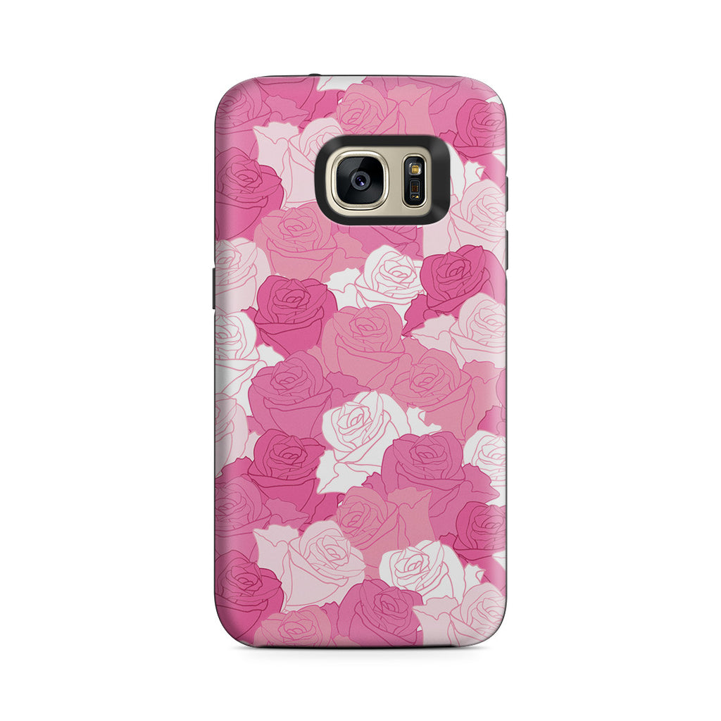 Galaxy S7 Adventure Case - A Life without Love Will Have No Roses
