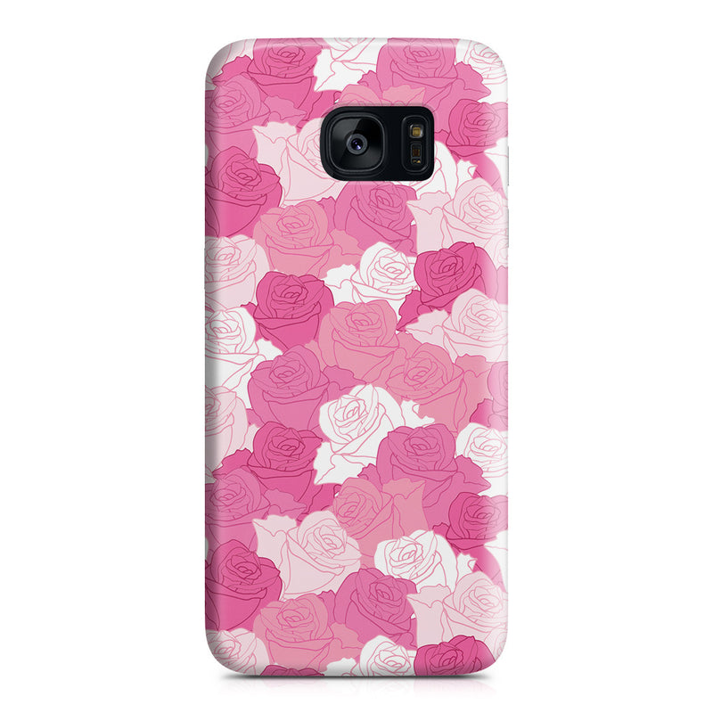 Galaxy S7 Edge Case - A Life without Love Will Have No Roses