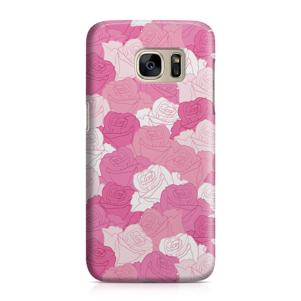 Galaxy S7 Case - A Life without Love Will Have No Roses