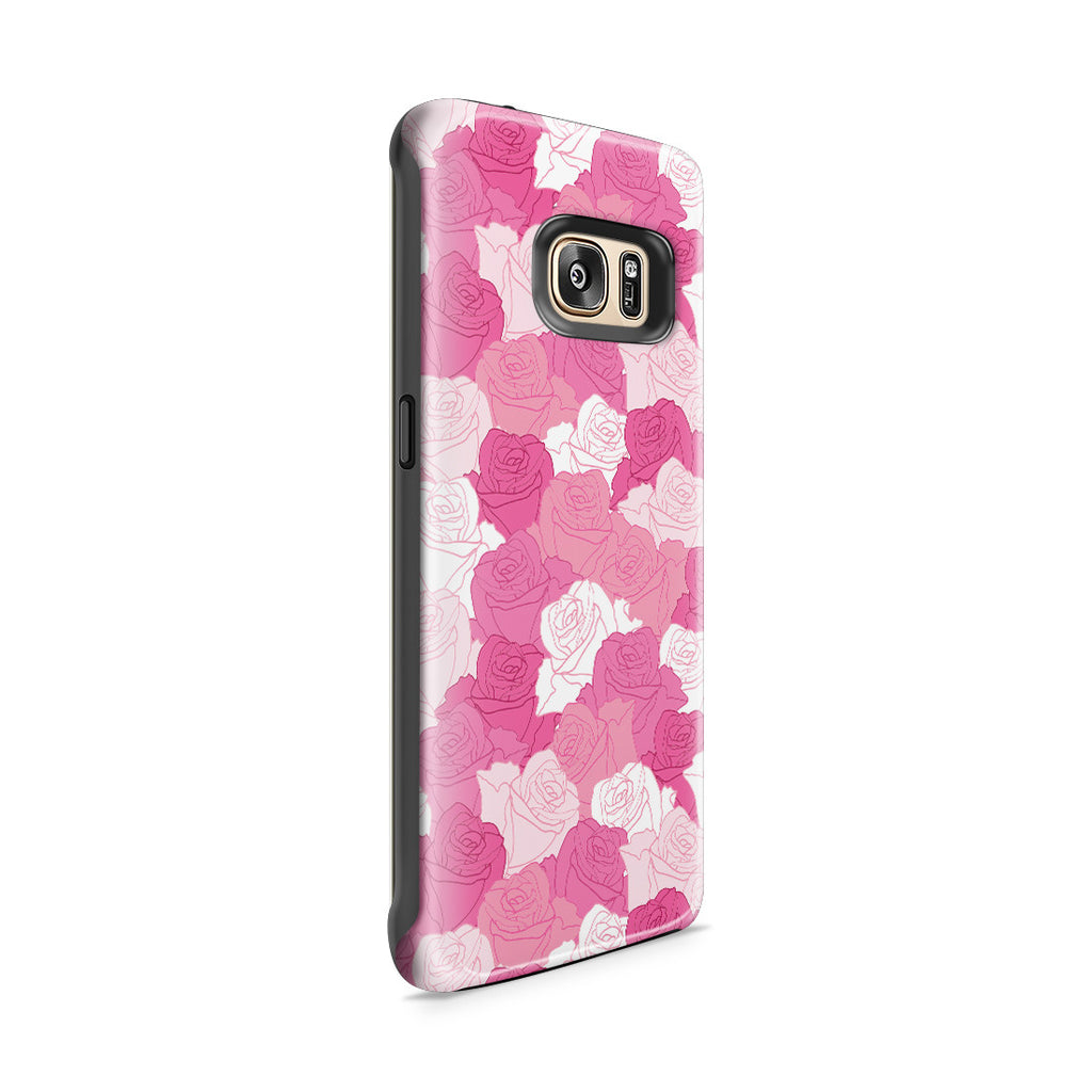 Galaxy S7 Edge Adventure Case - A Life without Love Will Have No Roses