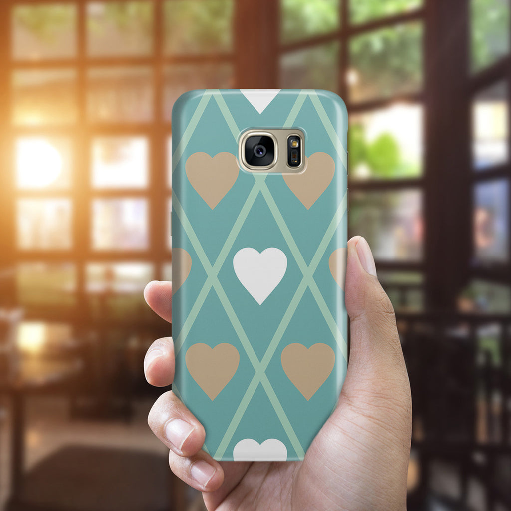Galaxy S7 Edge Case - Hold My Heart