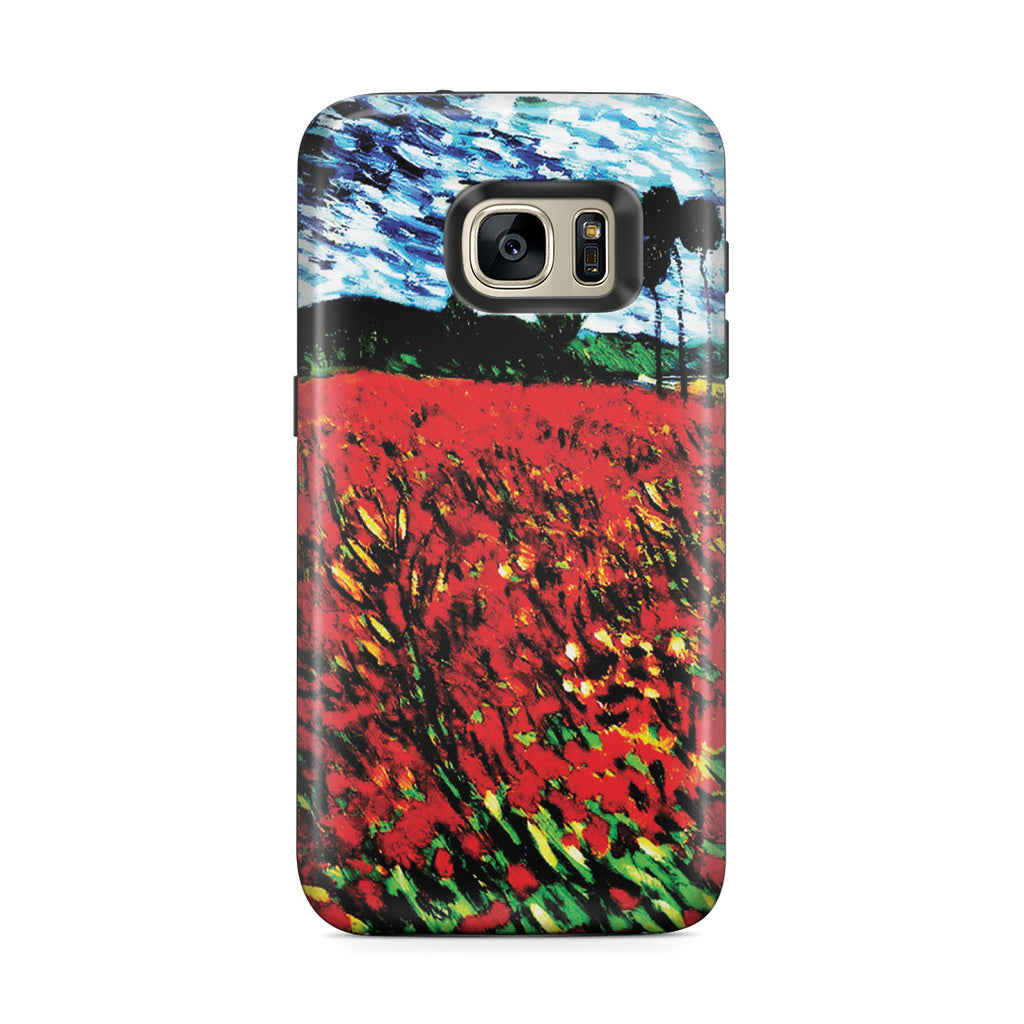 Galaxy S7 Edge Adventure Case - Field of Popples by Vincent Van Gogh
