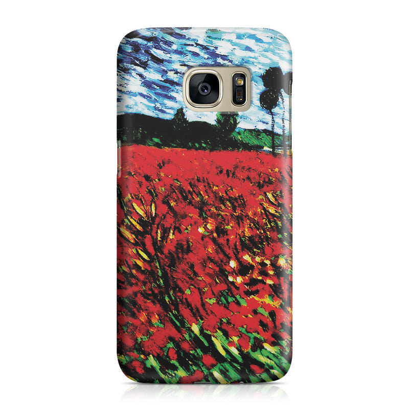 Galaxy S7 Case - Field of Popples by Vincent Van Gogh