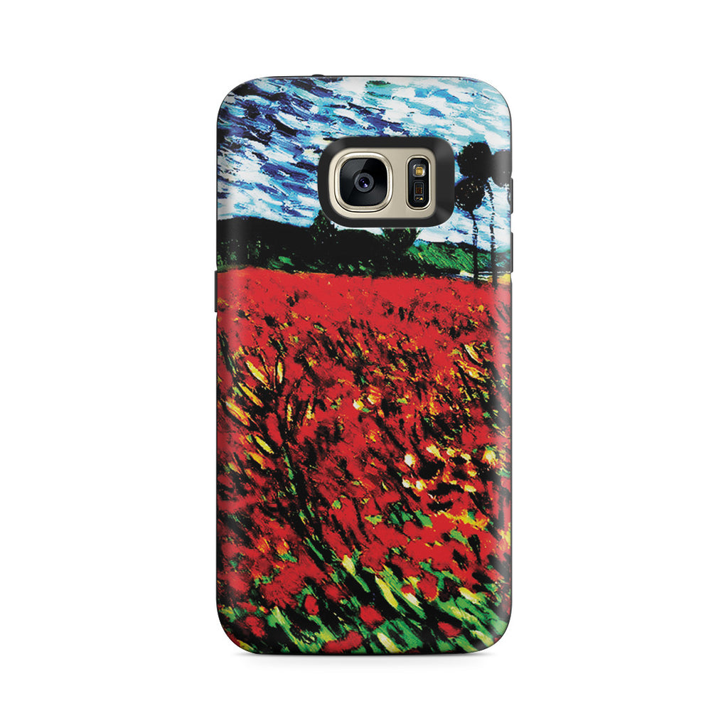Galaxy S7 Adventure Case - Field of Popples by Vincent Van Gogh