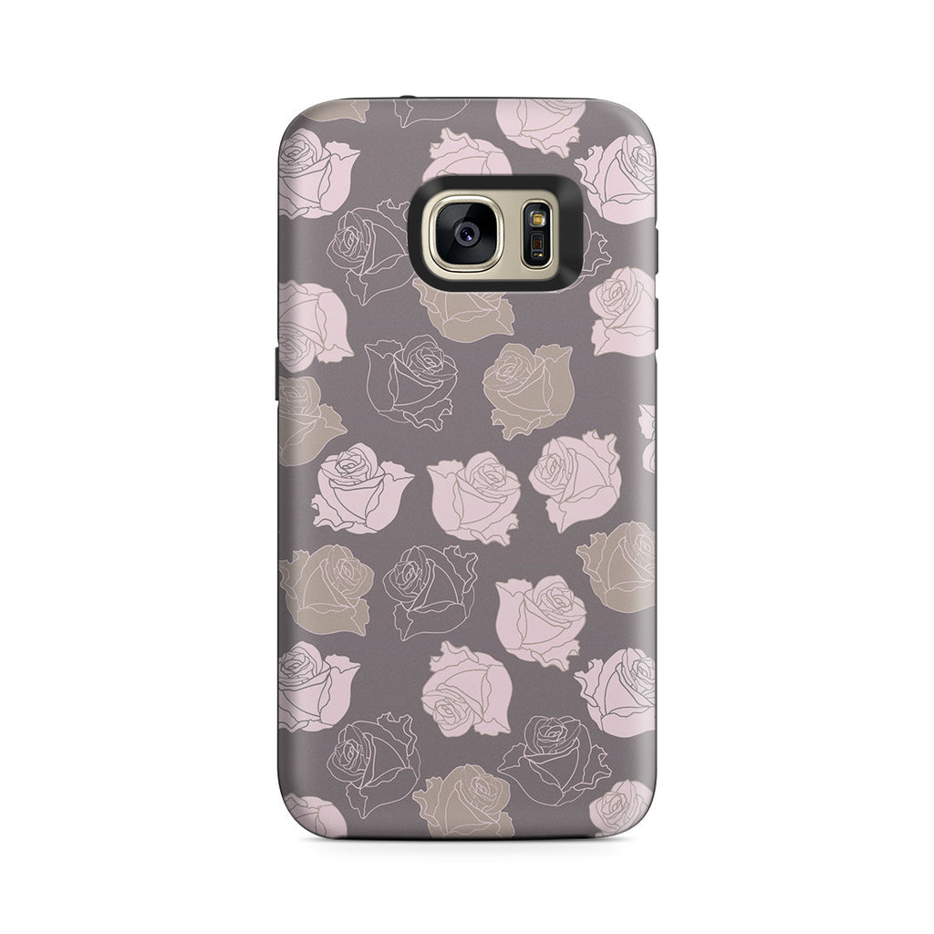 Galaxy S7 Adventure Case - Lovely Is the Rose